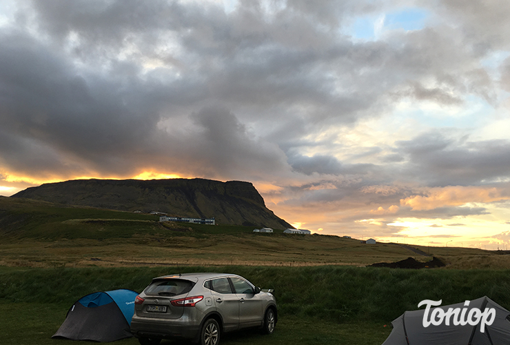 tente, voiture location, roadtrip, camping, islande
