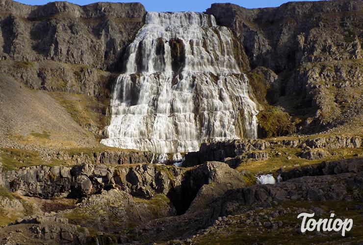 Fjallfoss, cascade,westfjors,islande,ouest