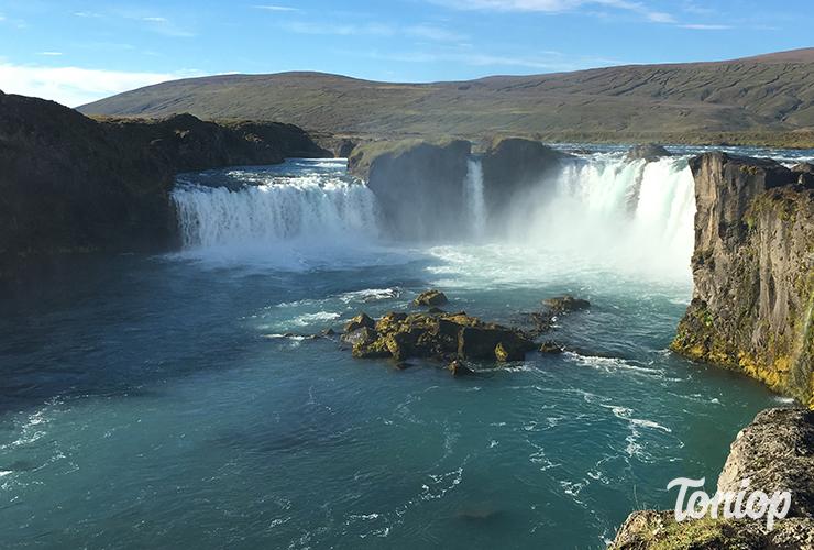 cascade,Góðafoss,islande,nord