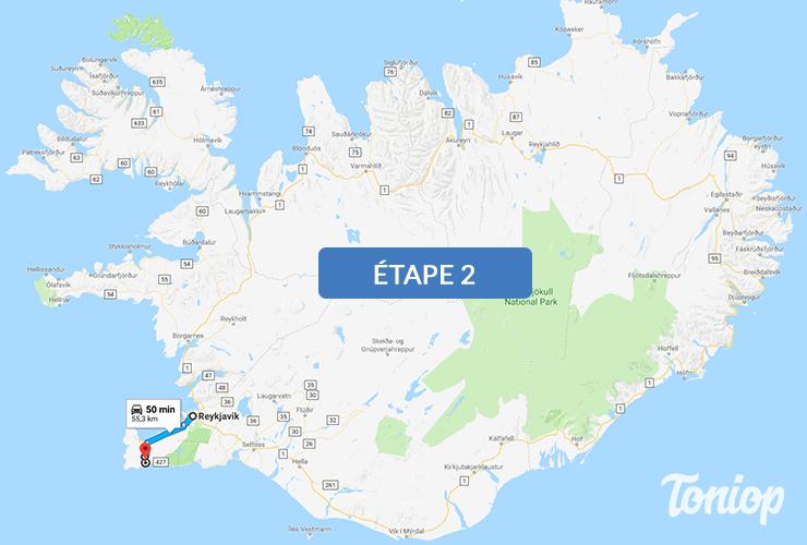 etape 2, roadtrip islande, reykjavik, grindavik, péninsule de reykjanes