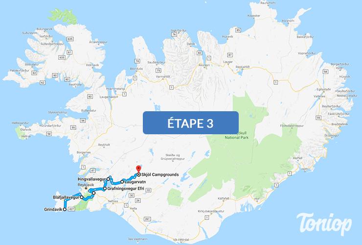 etape 3, Reykjanes, roadtrip islande, grindavik, geysir, Kjóastaðir