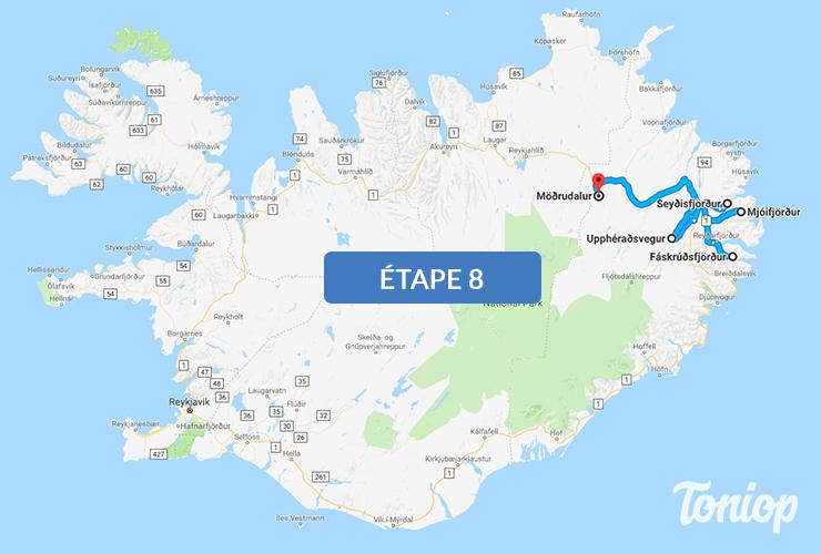 etape 8, roadtrip islande,fjord,Mjóifjörður,Seyðisfjörður,Hengifoss