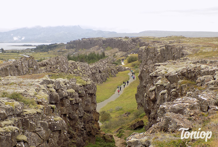Faille Thingvellir, Silfra, Islande