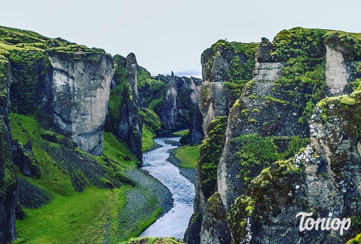 Fjaðrárgljúfur,gorges,islande