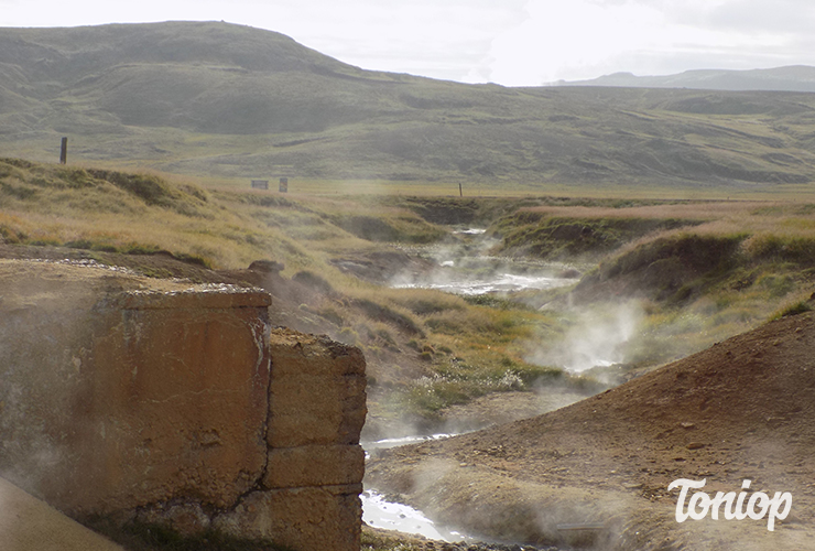 Krýsuvík, route 42, Islande