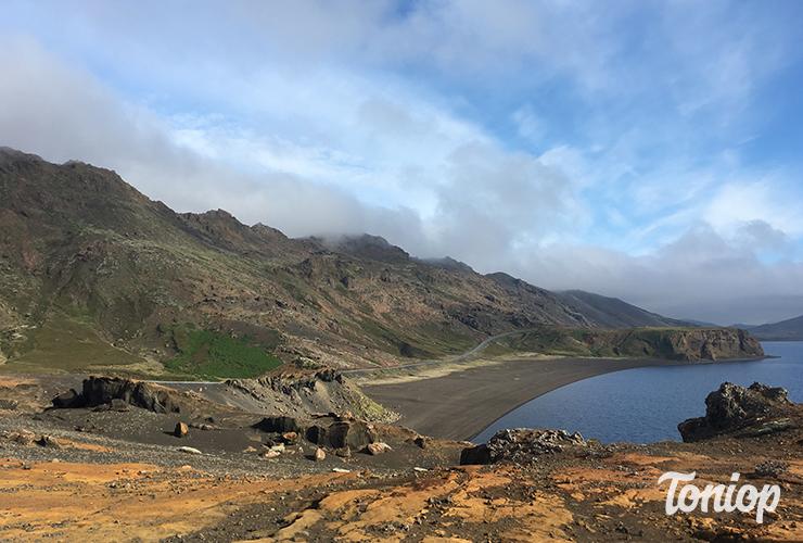 Lac Kleifarvatn, péninsule reykjanes, islande