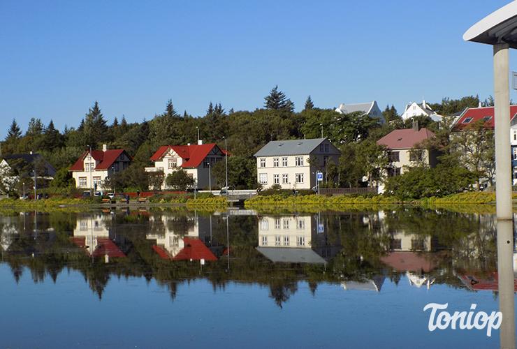 lac reykjavikurtjorn, lac centre reykjavik