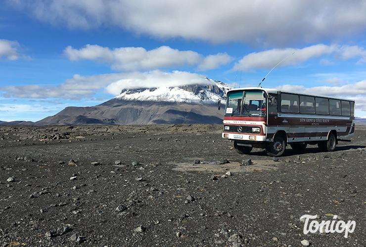 Parcourir l'Islande en Bus