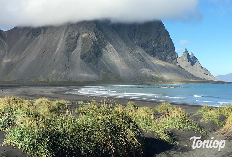 plage,Stokksnes,village,vikings