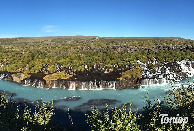 cascade,Hraunfossar,islande